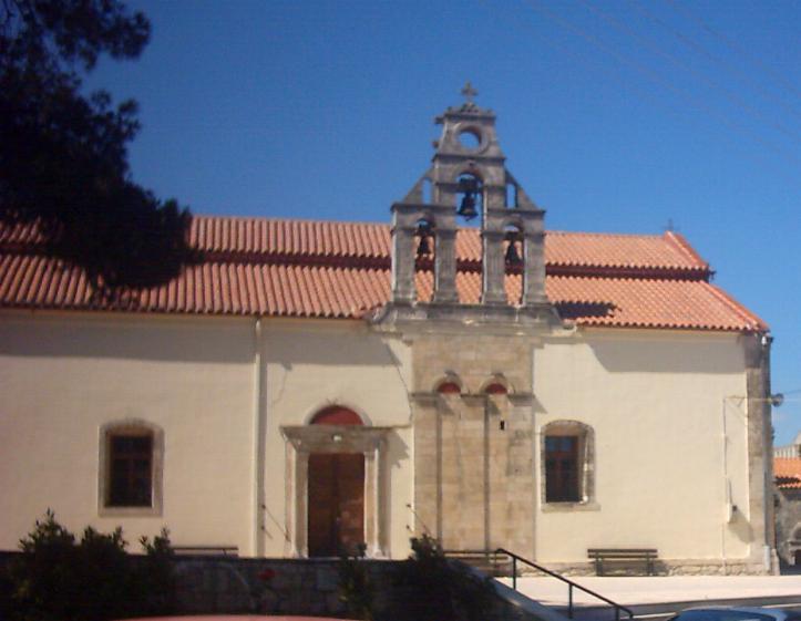 Kerk in Agia Varvara.