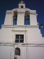 kerk net buiten de kastro
