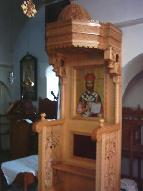 Binnen in de kerk