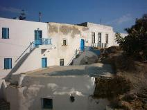 Houses in the Antiparos kastro
