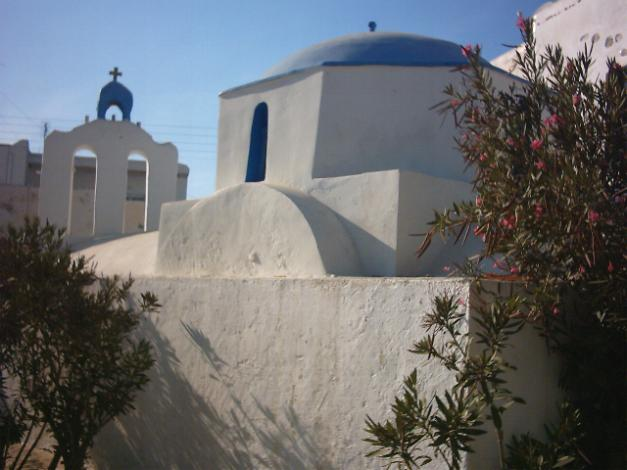 Antiparos history, the Kastro of Antiparos Town