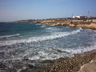 Sunset Beach in Antiparos Village