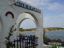 Ik bij  Mike's Place