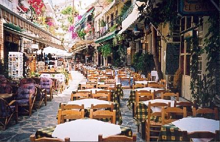 Street in Agia Galini