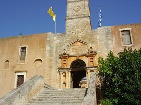 Agia Triada klooster, Akrotiri, Kreta.