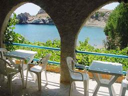 The Agios Pavlos Hotel.