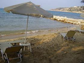 Almirida strand.