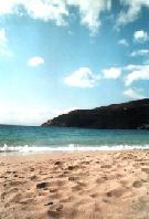 Amorgos: Egiali strand