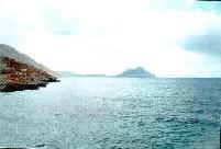 Nikouria Island voor de kust van Amorgos