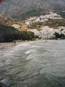 Egiali strand