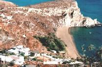 Klissidi en het strand
