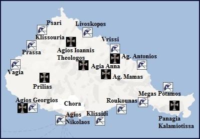 Map of Anafi