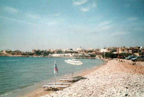 The beach of Analipsi.