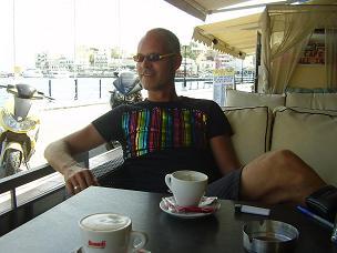 Me in Agios Nikolaos.