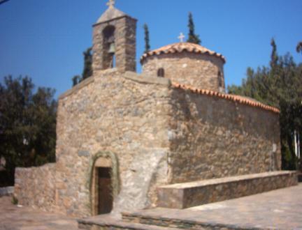 De Agios Nikolaos kerk.