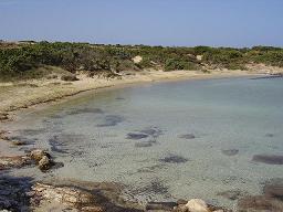 strand bij Antiparos stad
