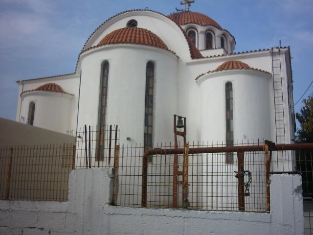 De kerk in Asimi, Kreta