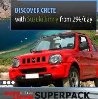 Kreta autoverhuur