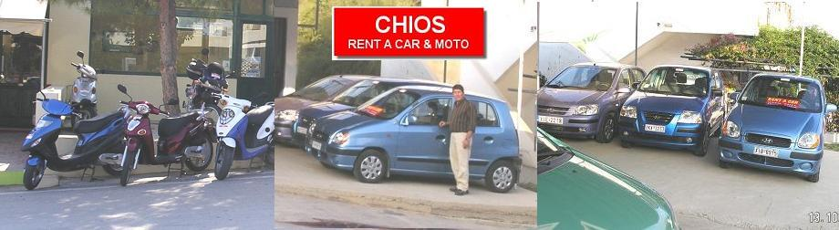 Chios car rental, autoverhuur