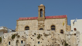 The monastery of Chrisoskalistissa, Crete, Kreta