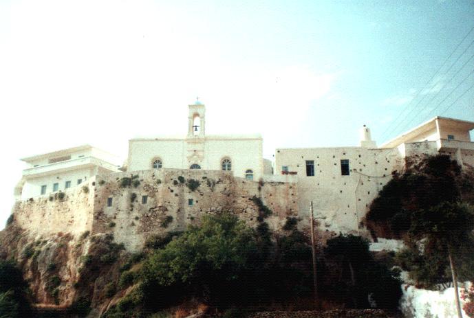 Chrisoskalistissa monastery, Crete, Kreta