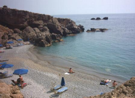 Another townbeach in Chora Sfakion.