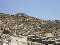 Het eiland Delos