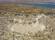 The theatre at Delos island