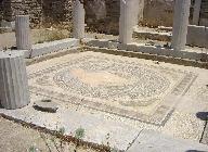 Het eiland Delos, mozaik