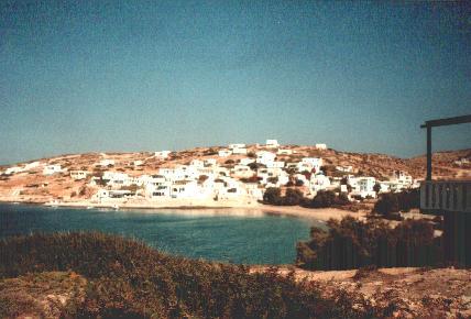 Donoussa dorp