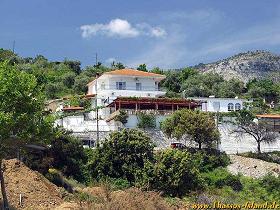 Thassos, Pension / Taverne Agorastos.