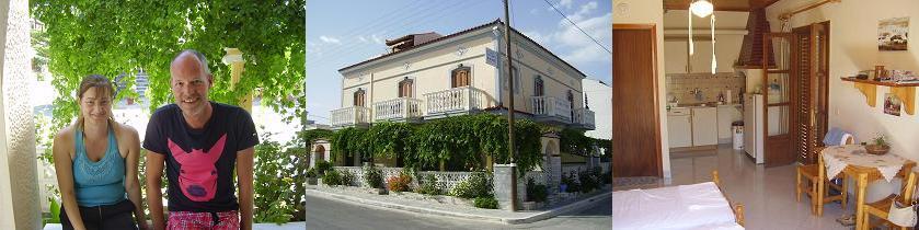Eleana Apartments in Samos