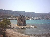 windmill on the halfisland Spinalonga