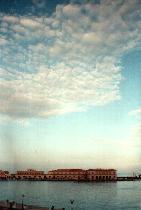 Wolken in Ermoupolis