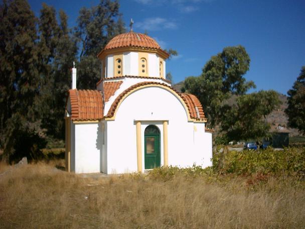 Een van de kerken in Kasteli
