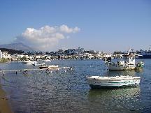 The village of Gavrio