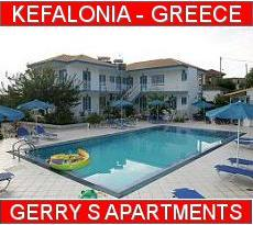 Kefalonia Gerry's Apartments