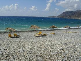 Gialiskari beach, Paleochora, Crete