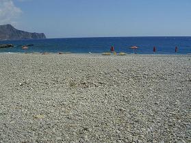 Gialiskari strand, Paleochora, Kreta
