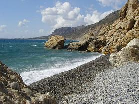 Gialiskari beach, Paleochora, Kreta