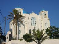 Kerk in de chora van Ios