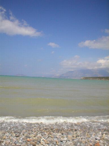 Het strand van Istro