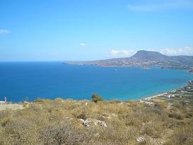 The fortress of Izzedine, Kreta