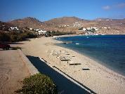 Het grote strand van Kalafatis