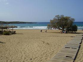 Kalathas strand, Akrotiri, Kreta.