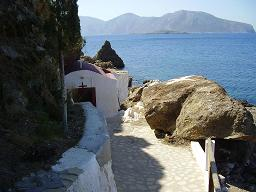 Looking from Leros to the island of Kalymnos