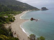 Samos island, potami Beach