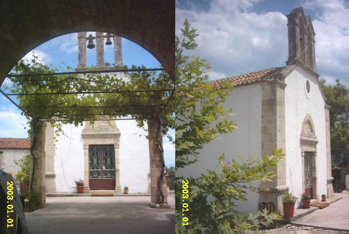 Vamos monastery, Crete, Kreta