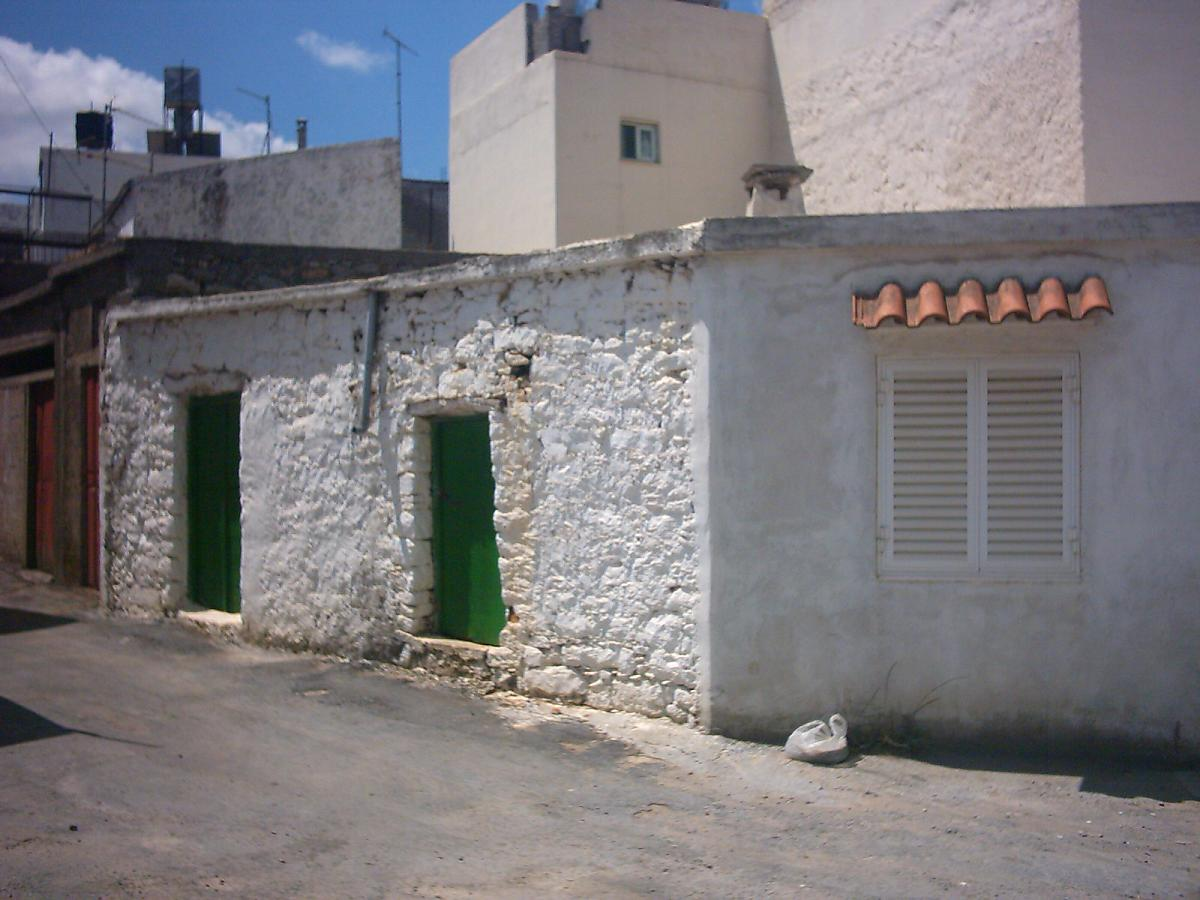 Een oud huis in Kasteli.