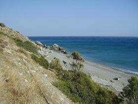 Kastri beach, Kreta
